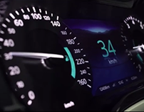Seamless Hybrid Automotive Instrument Cluster