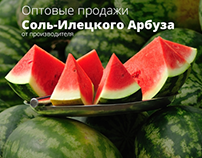 "Wholesale of watermelons ""ARBUZKA"""
