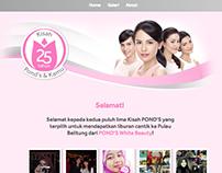 Pond's Indonesia - Kisah Cantik 25 Tahun Pond's ID