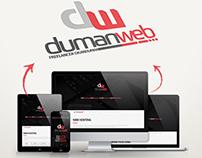 dumanweb.com web & logo design