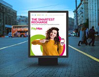 Poster Design   Smartest Recharge   ZONG   PayMax