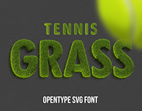 Tennis Grass Font
