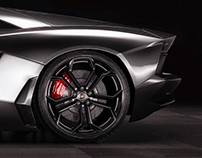 Lamborghini Aventador Studio shoots