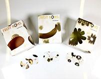Fruit Noms - dried fruit packaging
