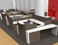 Interior Design: Canadian Tire Head Office Cubicles