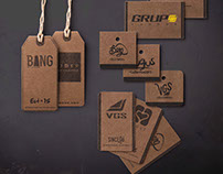 Hang tags & Labels streetwear clothing brand