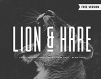 Lion & Hare Typeface- Free Fonts