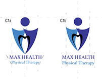 Max Health Logo - Drafts, playing with font styles
