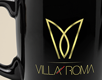 Logo + Papelaria + VILLA ROMA