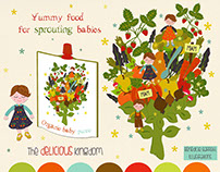 The delicious kingdom-yummy food for sprouting babies.