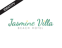 Jasmine Villa - Identity Design