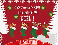 Infographie - Ces français qui n'aiment pas Noël !