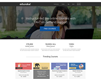 Edureka Website re-design