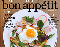 Bon Appetit Magazine Layout Design