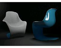 Fauteuil - 3D