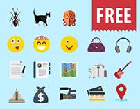 Jumbo Flat Icons (FREE)