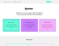 Qminder redesign
