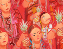 Baile de flor de piña