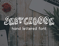 Sketchbook - Hand Lettered Font