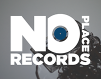 No Place Records // Logo