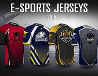E-sports Jerseys 2015
