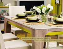 Furniture Catalog Design & Shooting