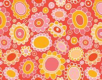 Vintage Wallpaper Repeat Pattern