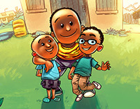 Book Illustrations: Family