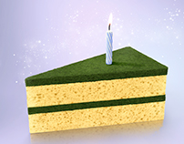50 years Sanitas   Piece of cake