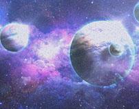 Space scene.