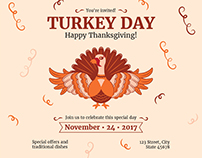 Turkey Day | Modern and Creative Templates Suite