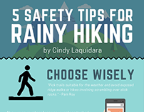 Infographic Design for Hiking Safety Tips