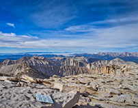 Backpacking from Onion Valley to Mt. Whitney