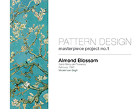 Pattern Design: Almond Blossom (in progress)