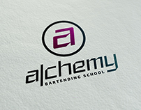 Alchemy Bartending School_Logo Redesign