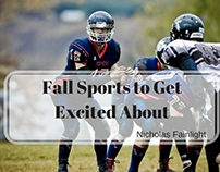 Fall Sports to Get Excited About