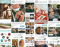 Email newsletter designs for et al fine food