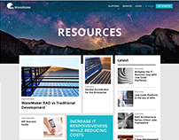 Wavemaker Resources Page