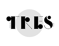 Tres - Personal typography