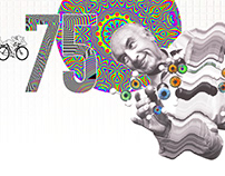 The 75th birthday of LSD