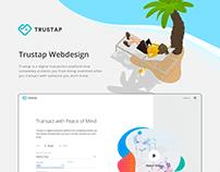 Trustap webdesign