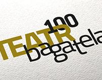 "rebrand / logo ""teatr bagatela"""