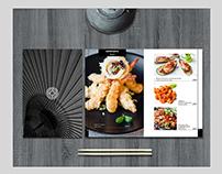 Menu and branding for Peking Duck restaurant