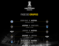 Fase de Grupos - Clube Atlético Mineiro - Libertadores