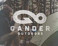 Gander Outdoors Logo Competition