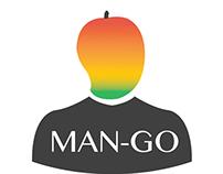 Man-Go logo design