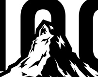 Swiss Alps 100 Logo