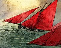 Wild Atlantic Way Illustrations