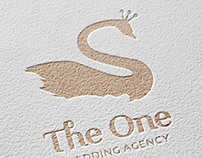 THE ONE. Wedding agency logo.