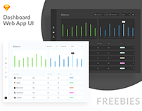 Freebies - Dashboard Web APP UI